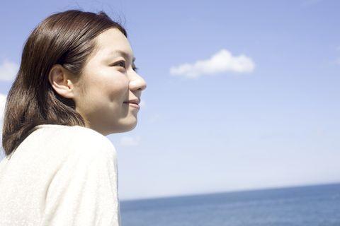 海は、あなたの生みの親。眺めていると、心が落ち着く。   いらいらしない人になる30の方法