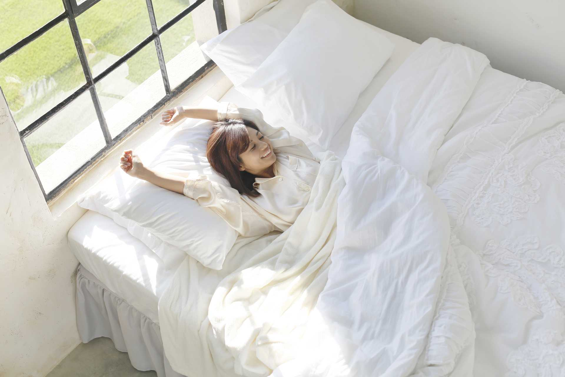 ほのかな朝日で、自然に目覚める。 | のんびり気楽に生きる30の心の習慣