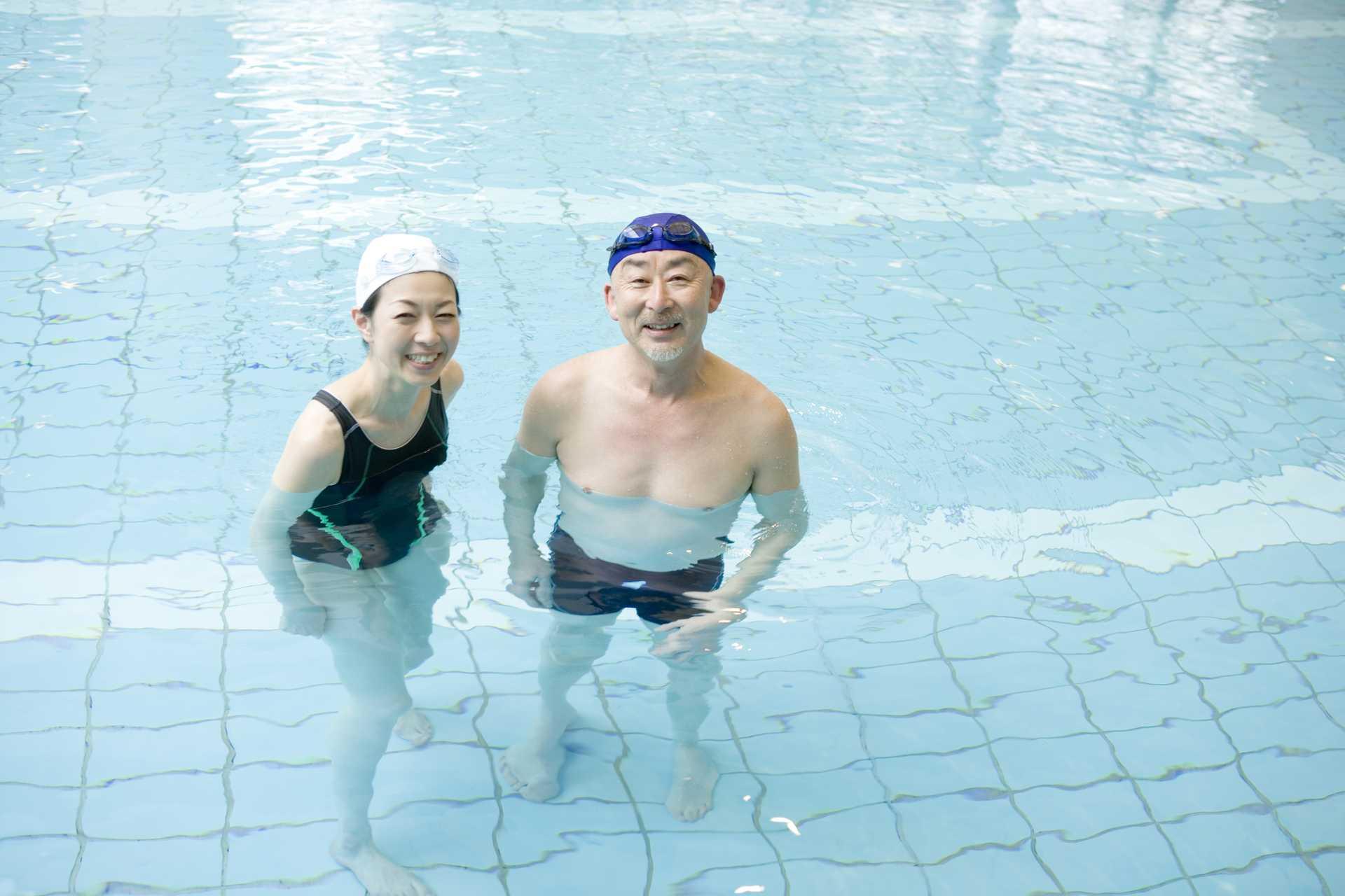 水中ウォーキングには、陸の上ではできないメリットがある。 | 健康のためになる30の散歩術